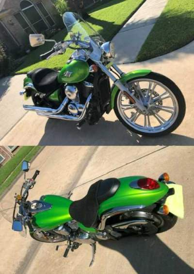 2008 Kawasaki Vulcan Green for sale craigslist