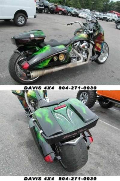 2008 Other Makes Big Bear Custom Chopper Motorcycle Black for sale craigslist photo