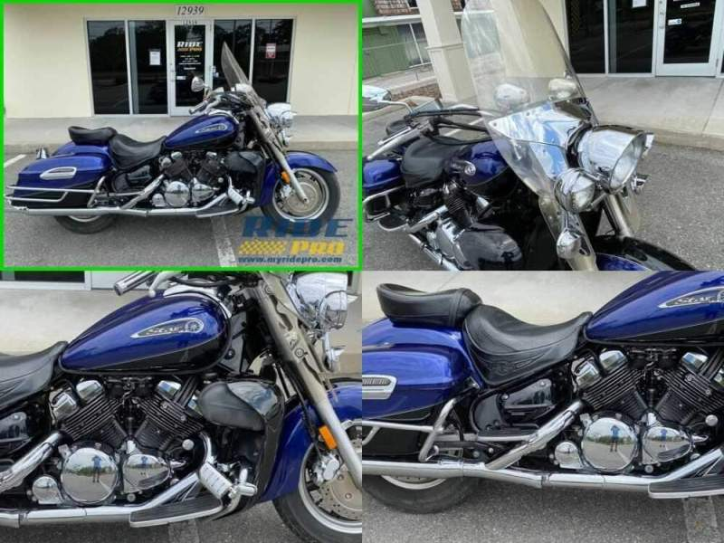 2008 Yamaha Royal Star Tour Deluxe Blue/Black for sale craigslist