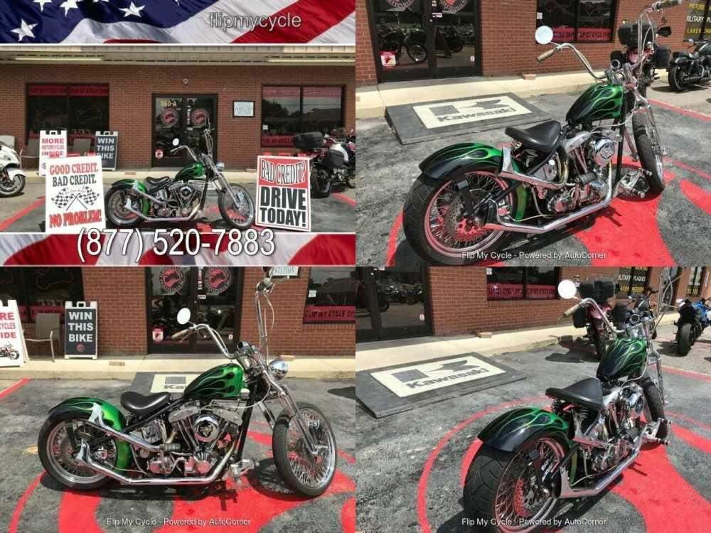2009 Harley-Davidson Custom Green for sale craigslist photo