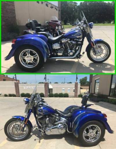2009 Harley-Davidson Softail CVO™ Springer® Cobalt Blue for sale