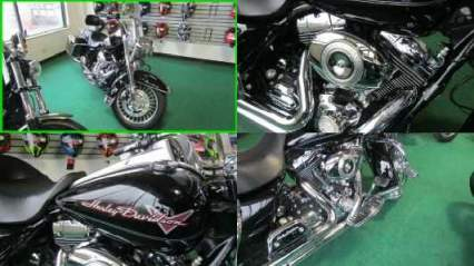 2009 Harley-Davidson Touring Road King Black for sale craigslist photo