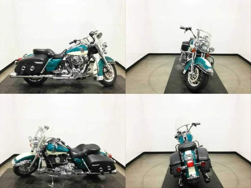 2009 Harley-Davidson Touring Two-Tone Deep Turquoise/Antique White for sale