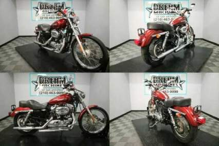 2009 Harley-Davidson XL1200C - Sportster 1200 Custom Red for sale craigslist