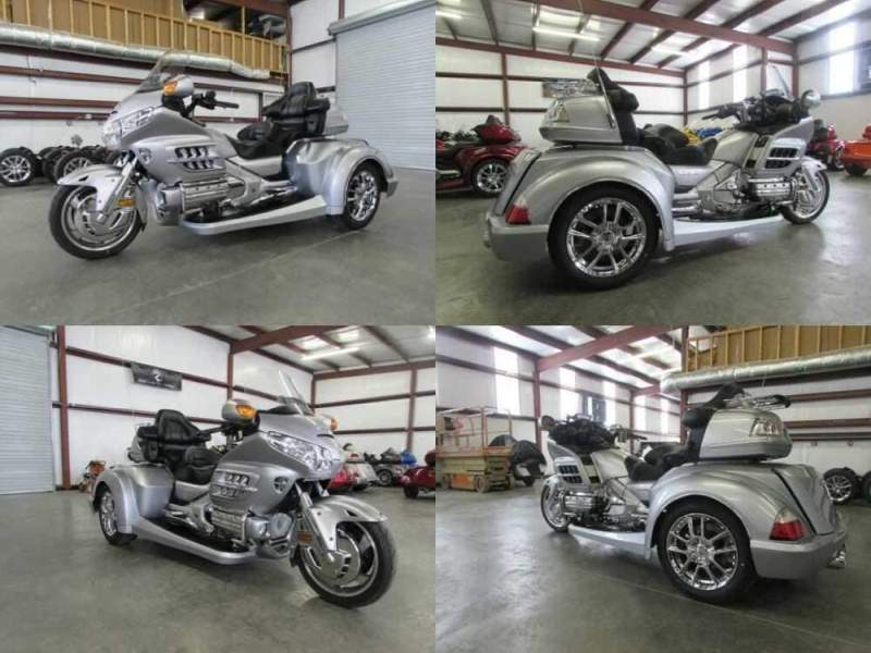 2009 Honda Gold Wing SILVER for sale craigslist