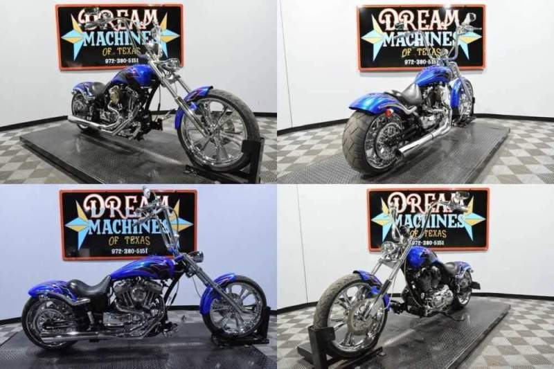 2009 Thunder Mountain Custom Spitfire C Blue for sale