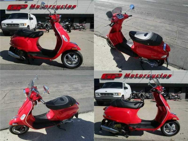 2009 Vespa S150 Red for sale craigslist photo