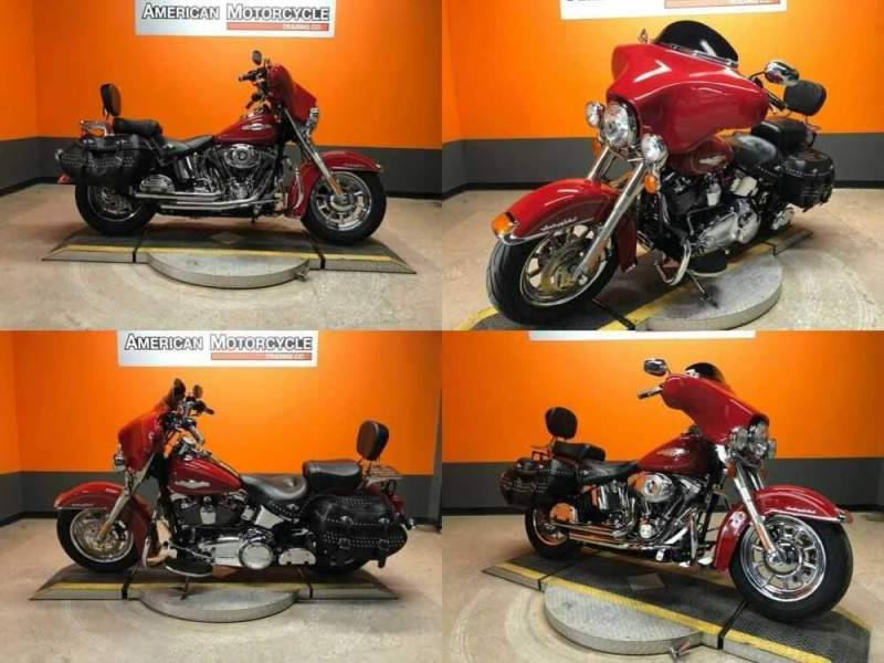2010 Harley-Davidson Softail Red for sale craigslist