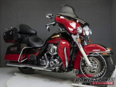 2010 Harley-Davidson Touring FLHTK ELECTRA GLIDE ULTRA LIMITED WABS MERLOT SUNGLO/CHERRY RED SUNGLO for sale