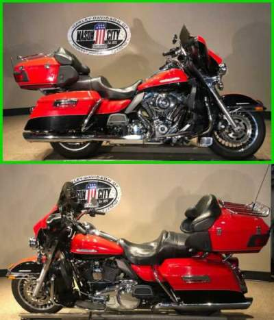 2010 Harley-Davidson Touring Electra Glide® Ultra Limited Scarlet Red & Vivid Black for sale craigslist photo