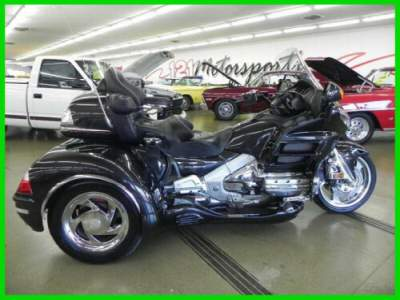 2010 Honda Gold Wing California Sidecar Independent Suspension Black for sale craigslist