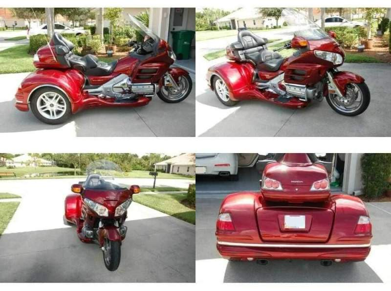 2010 Honda Gold Wing Red for sale craigslist