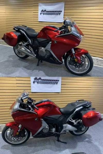 2010 Honda VFR1200F Red for sale