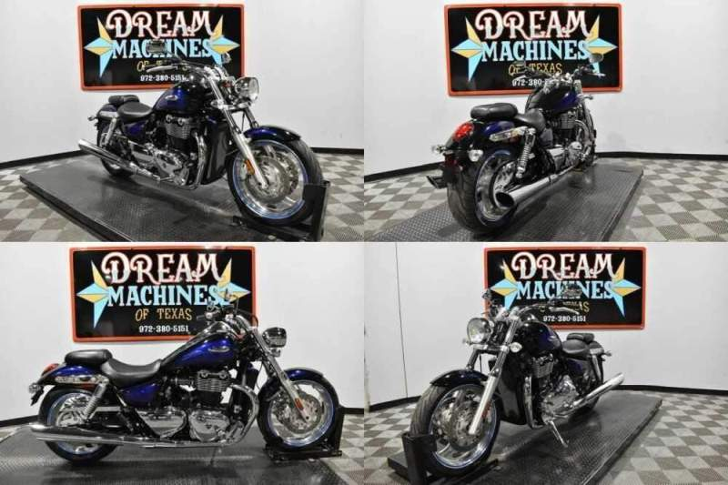 2010 Triumph Thunderbird Black for sale craigslist