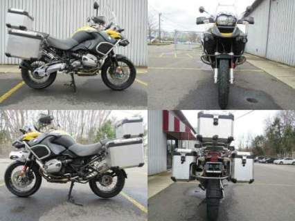 2011 BMW R1200GS ADVENTURE Yellow for sale