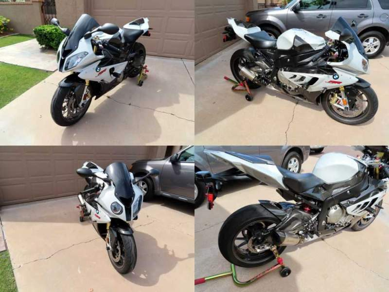 2011 BMW S1000rr Pearl Cloud Grey for sale