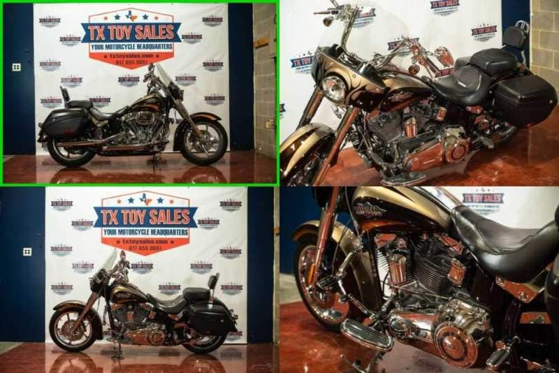 2011 Harley-Davidson Softail CVO™ Softail® Convertible BLACK/TAN for sale craigslist