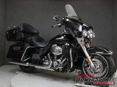 2011 Harley-Davidson Touring FLHTK ELECTRA GLIDE ULTRA LIMITED WABS VIVID BLACK for sale