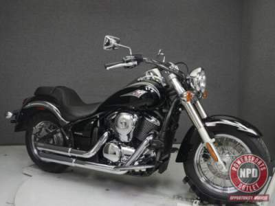 2011 Kawasaki Vulcan Classic METALLIC DIABLO BLACK for sale