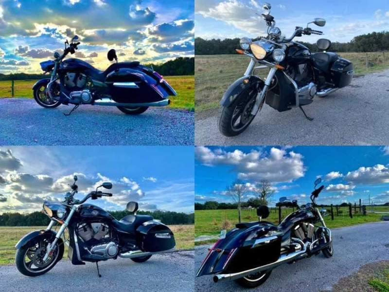 2011 Victory Cross Roads Black for sale