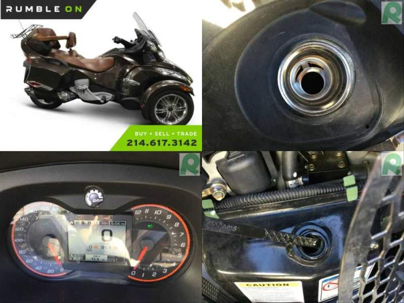 2012 Can-Am SPYDER RT SE5 LIMITED CALL (877) 8-RUMBLE Brown for sale