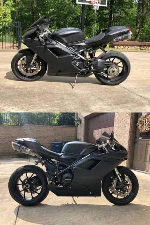 2012 Ducati Superbike BLACK for sale