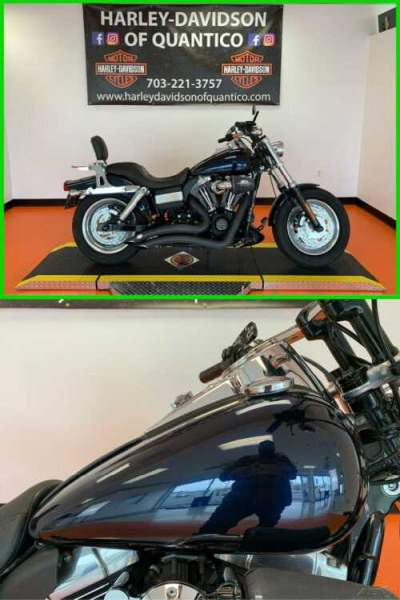 2012 Harley-Davidson Dyna Dyna Fat Bob Big Blue Pearl for sale