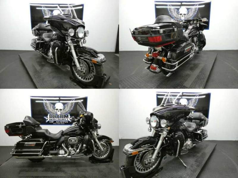 2012 Harley-Davidson FLHTCU - Electra Glide Ultra Classic Black for sale craigslist photo