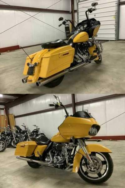 2012 Harley-Davidson FLTRX - Road Glide® Custom Yellow for sale