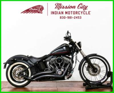 2012 Harley-Davidson Softail FXS - Blackline Black Denim for sale craigslist
