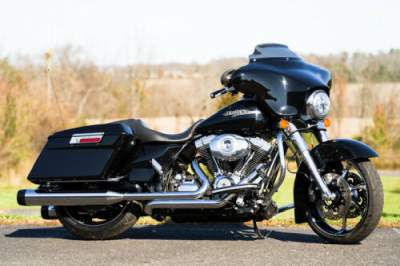 2012 Harley-Davidson Touring Vivid Black for sale craigslist photo