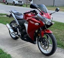 2012 Honda CBR Red for sale
