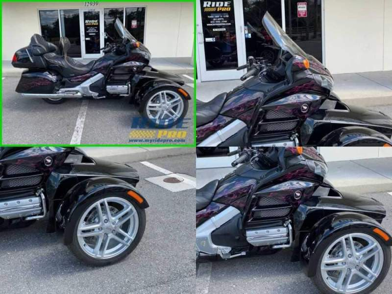 2012 Honda Gold Wing Audio / Comfort / Navi / XM / ABS Black for sale