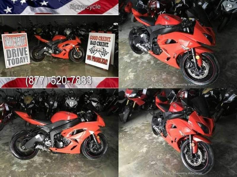 2012 Kawasaki ZX6R Red for sale craigslist