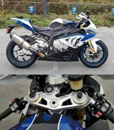 BMW: HP4 White/Blue for sale craigslist