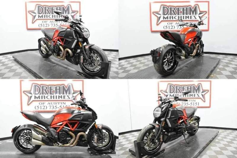2013 Ducati Diavel Carbon Red for sale craigslist photo