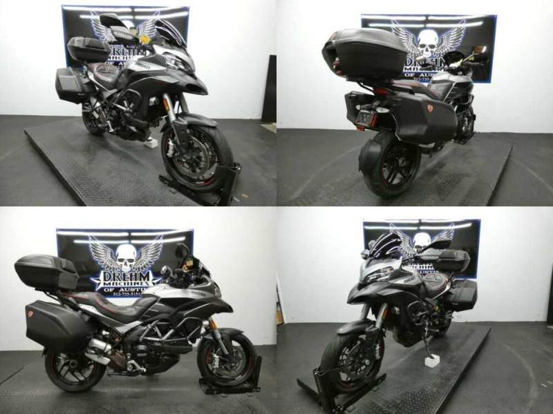 2013 Ducati Multistrada 1200 S Touring Matte Chrome for sale