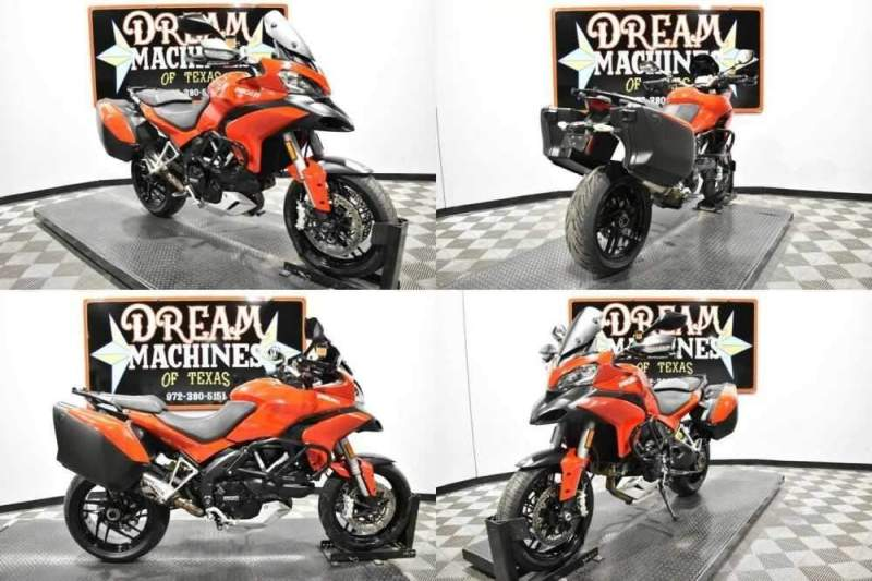 2013 Ducati Multistrada 1200 S Touring Red for sale craigslist photo