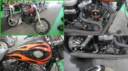 2013 Harley-Davidson Dyna GLIDE WIDE BLACK FLAMES for sale