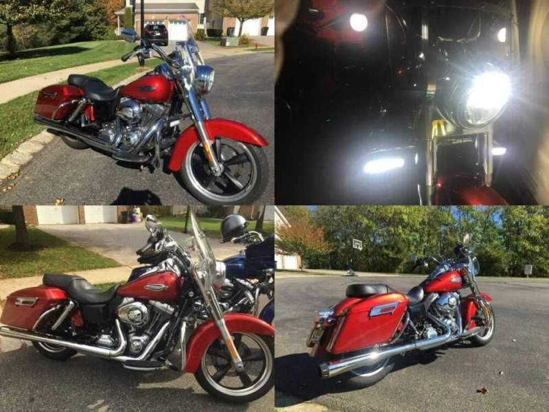 2013 Harley-Davidson Dyna Red Sunglow for sale craigslist photo