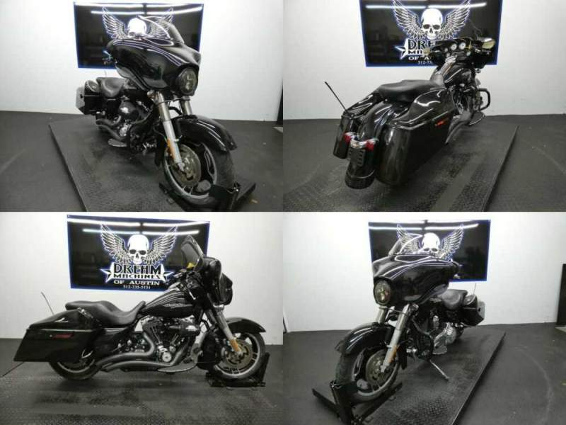 2013 Harley-Davidson FLHX - Street Glide Midnight Pearl for sale craigslist photo