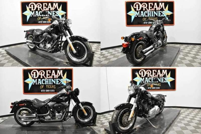 2013 Harley-Davidson FLSTFB - Softail Fat Boy Lo Black for sale