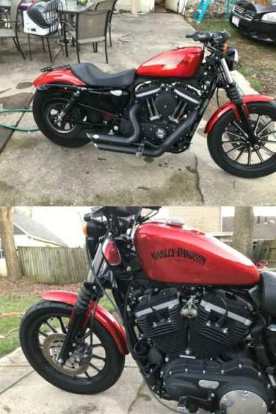 2013 Harley-Davidson Sportster Orange for sale craigslist