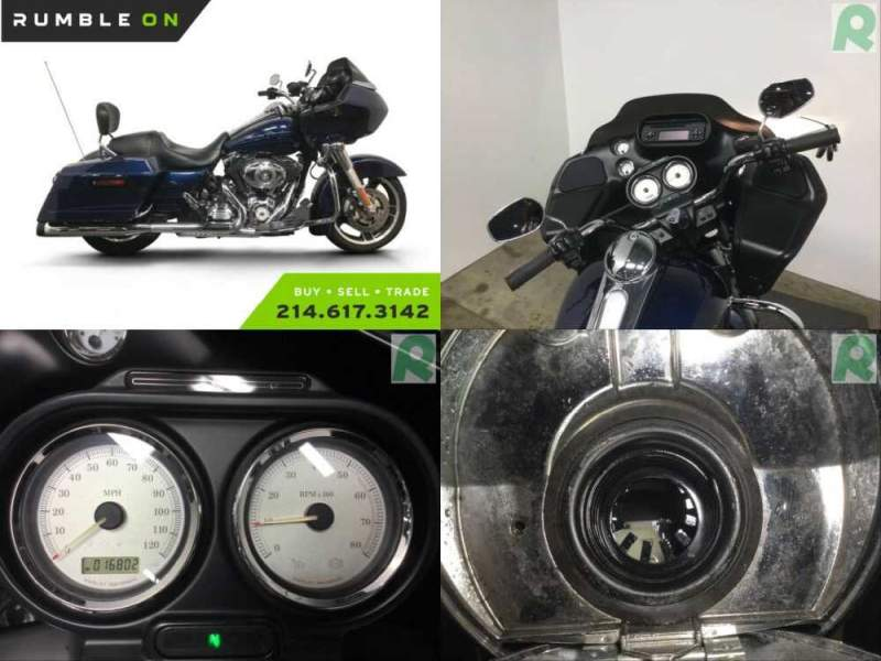 2013 Harley-Davidson Touring CALL (877) 8-RUMBLE Blue for sale