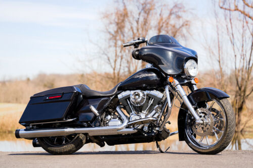 2013 Harley-Davidson Touring Vivid Black for sale craigslist photo