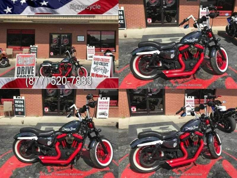 2013 Harley-Davidson XL1200X Forty Eight Sportster Black for sale craigslist photo