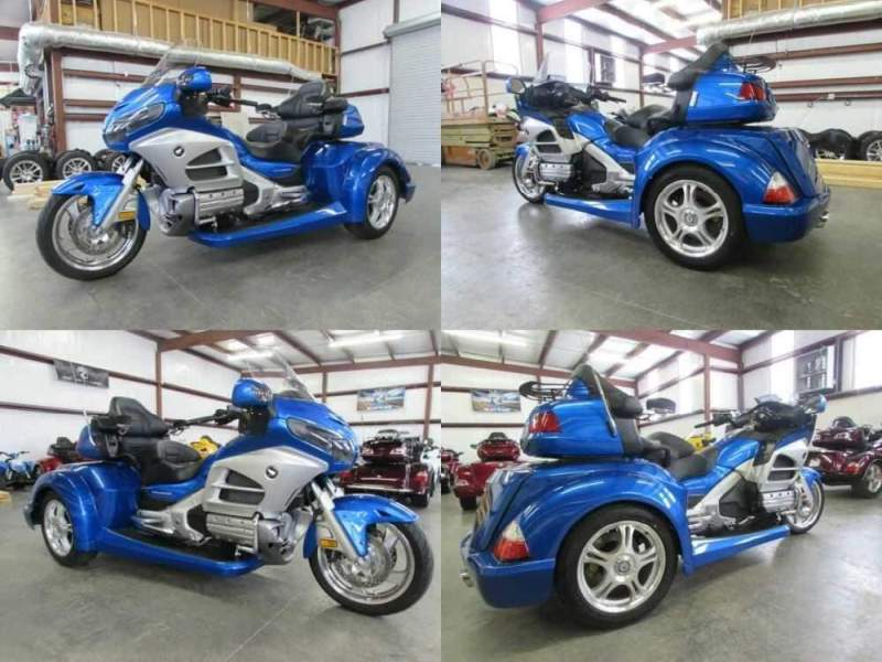 2013 Honda Gold Wing BLUE for sale