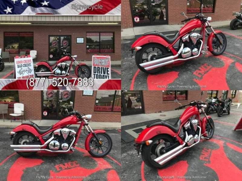 2013 Honda VT1300CX Red for sale