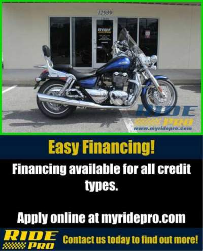 2013 Triumph Thunderbird ABS BLUE/BLACK for sale craigslist