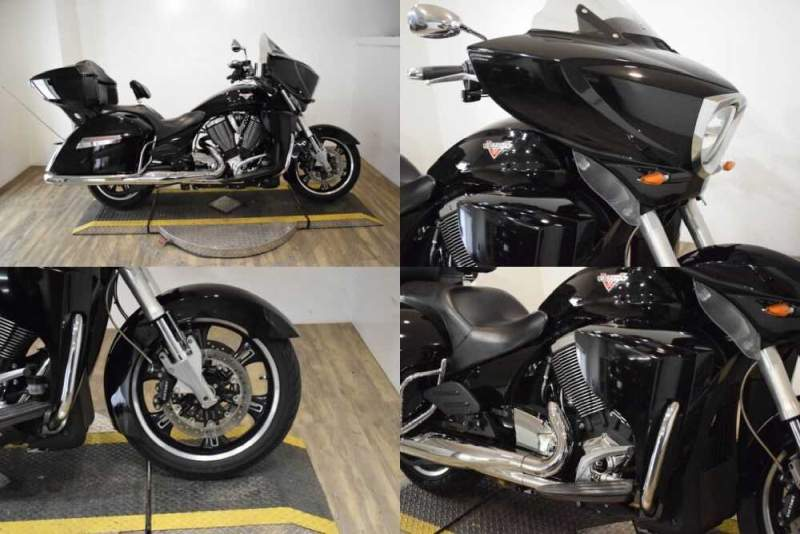 2013 Victory Cross Country Tour® Black for sale craigslist
